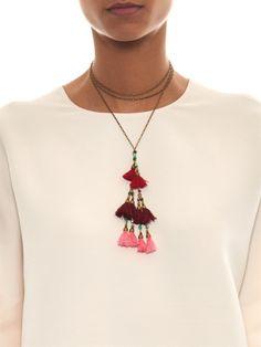 Mild tassel wrap necklace | Isabel Marant | MATCHESFASHION.COM
