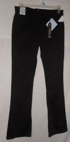 21.99$  Watch now - http://vidwy.justgood.pw/vig/item.php?t=i2ny8ay5480 - New Womens Size 10 Black Jeans Pants Mid Rise Skinny Comfort Waist by Supplies