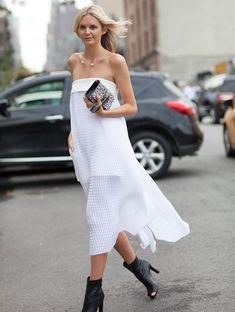 midi-white-dress-street-style-boots-clutch