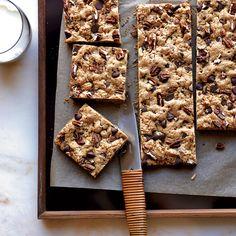Chocolate-Chip-Pecan Cookie Bars // More Delicious Cookies: http://www.foodandwine.com/slideshows/cookies #foodandwine
