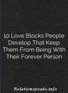 10 Love Blocks People Develop That Keep Them From Being With Their Forever Person Love, Reading, Search, People, Amor, Searching, Reading Books, People Illustration, Folk