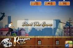 Play Reaper Run To Pimp Your Senses         Reaper run is a soul threatening game, where you need run and defend your soul against wicked reaper and its fatal obstacles. Collect coins to purchase new character, reapers and new magnetic powers.     We have Reapers and Powers to Make You Thrill    iTunes Link  https://itunes.apple.com/us/app/reaper-run/id566526319?mt=8