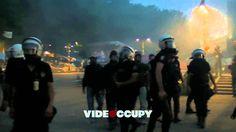 Gezi Parkı'na Polis Müdahalesi // Police Enters to Gezi Parkı /// 15.06....