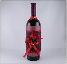 Valentine's day gift. Diy bottle gift