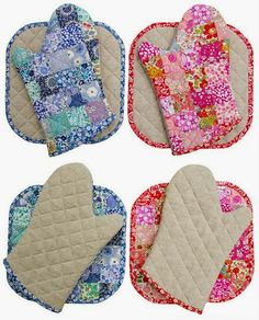 Red Pepper Quilts: Liberty Tana Lawn Oven Mitts and Potholders Sewing Hacks, Sewing Tutorials, Sewing Crafts, Sewing Projects, Club Couture, Teddy Bear Design, Quilted Potholders, Oven Glove, Creation Couture