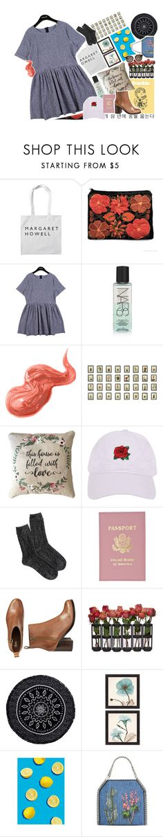 """""""So fresh🕙"""" by biteesizedd ❤ liked on Polyvore featuring StyleNanda, NARS Cosmetics, Bobbi Brown Cosmetics, Armitage Avenue, American Eagle Outfitters, Gap, The Beach People and STELLA McCARTNEY"""