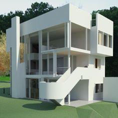 Smith House by Veronica Vitriago, via Behance