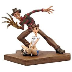 Nightmare on Elm Street Freddy Krueger Animated Maquette - Gentle Giant - Horror: Nightmare On Elm Street - Statues at Entertainment Earth