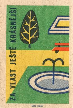 czechoslovakian #matchbox label. To order your Business' own branded #matchbooks or #matchboxes GoTo: www.GetMatches.com or CALL 800.605.7331 TODAY! Pic. courtesy of www.matchpro.org
