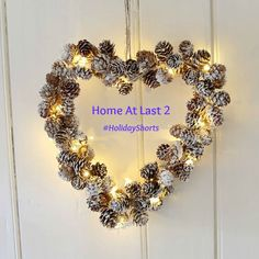 Part Two HOME AT LAST At Last, Ornament Wreath, Christmas Wreaths, Lily, Holiday Decor, Inspiration, Home, Christmas Swags, Biblical Inspiration