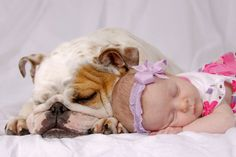 I want a pic like this one day with my dog and baby (future)
