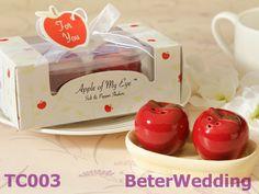 「私の目のリンゴ「 セラミック塩・コショウのシェーカー BETER-TC003  #weddinggifts #weddingbubbles #soapfavors #soaps #babygifts #babyshowerfavors #bridesmaidgifts #babyshower #clearancesale #saltnpeppershakers #weddingfavors by Shanghai Beter Gifts CO Ltd上海倍乐礼品 ; http://www.aliexpress.com/store/513753