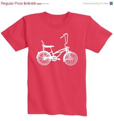 50 OFF Cool Kids Bike TShirt  Screen by countercouturedesign, $8.00