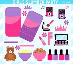 Popular items for girls slumber party on Etsy