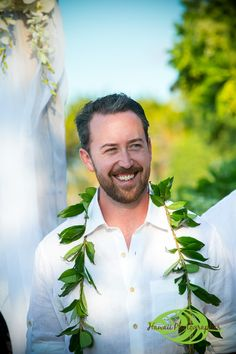 The groom...Hawaii Wedding Couple @ Kumukea Beach the Four Seasons Hualalai on the Big Island of Hawaii. A beautiful day with blue skies and sunshine and a turtle hanging out on the beach. http://hawaiiphotographer.com/wedding-photographer-hawaii-christa-eric/