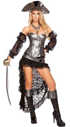 Halloween DEADLY PIRATE CAPTAIN COSTUME - Cadılar Bayramı Kostümleri