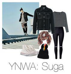 YNWA: Suga by cyjsuga on Polyvore featuring moda, WithChic, Givenchy, Converse, Fantasia and Eugenia Kim