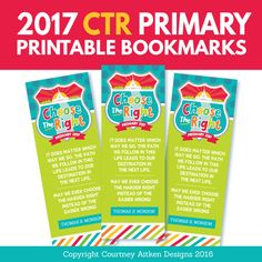 2017 LDS Primary Theme - Birthday Coupons (Bishop ...