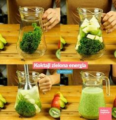 Easy Detox Your Body - Cleanse, Tea, Water, Recipes Easy Detox, Healthy Detox, Healthy Smoothies, Healthy Drinks, Healthy Eating, Smoothie Drinks, Smoothie Diet, Detox Drinks, Detox Recipes