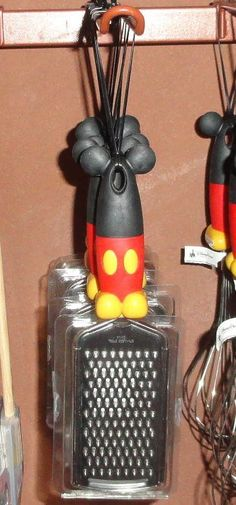mickey mouse cheese grater