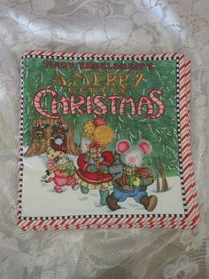 Christmas Cloth Children Book Mary Engelbreit's A by BabyRaggz, $16.00