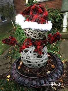 1000 Images About Diy Quikrete Holiday Decorations On