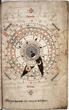 An astrological calendar by Nicholas of Lynn ~1324
