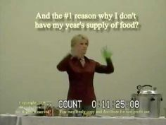 ▶ How to store a years supply of food Wendy DeWitt Part 1 of 9 - YouTube