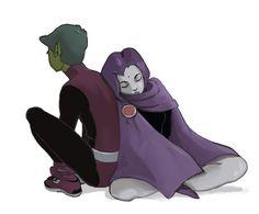 Beast Boy/Raven