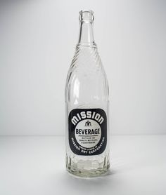A personal favorite from my Etsy shop https://www.etsy.com/listing/234145081/vintage-mission-beverage-glass-bottle