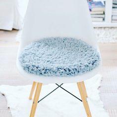 Affordable Sitzkissen Fr Eames Chair In Taubenblau With Sitzkissen  Dunkelblau