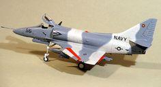 A-4 Skyhawk Adversaries by Bob Aikens (Revell. ESCI & Hobbycraft 1/48)