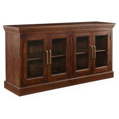 Check out this item at One Kings Lane! Lancaster Sideboard, Aged Sable