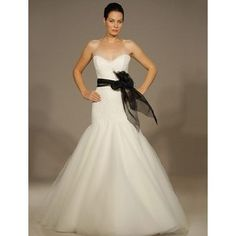 My Ramona Keveza wedding dress! (Minus the black sash). Still in love!! Wish I could wear it over and over =-)
