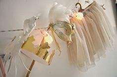 kaunis pieni elämä: Oh so girly! Woodland rabbit party string lights by dotcomgiftshop