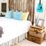 tete de lit recup bois