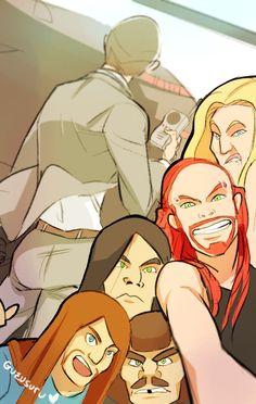 Dethklok selfie