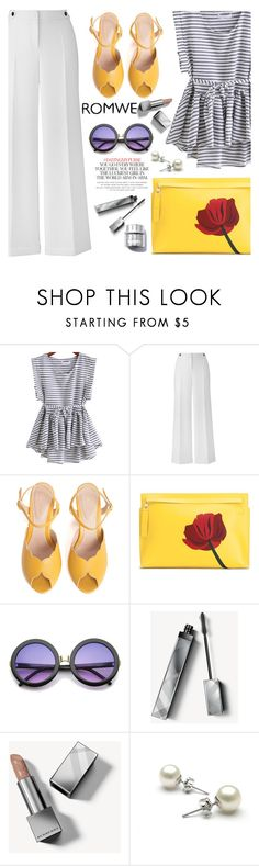 """""""yellow touch"""" by nataskaz ❤ liked on Polyvore featuring SPECIAL DAY, Loewe, ZeroUV, Burberry and Kate Spade"""