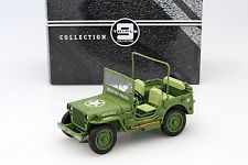 Jeep Willy's military police Year 1941 green 1:18 Triple9