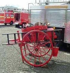 Fire Engine Appliances -Scottish Fire and Rescue Paisley Hand Cart Heritage Trust Appliance – Museum & Heritage Centre Greenock