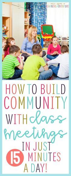 Build Community with Class Meeting Routines...First off, routine is everything! I like to keep my meetings to no more than 15 minutes or so, and I like for my students to be engaged and participating the whole time! In order to stick to this tight timeline and to keep everybody focused, we use the same routine every. single. day!