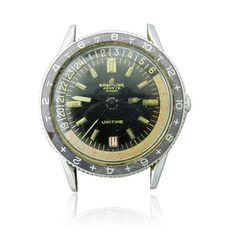 Rare Breitling Unitime Watch ref. 2610 Available on our August 11th Auction @ hamptonauction.com