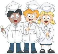 Kids Graduation Clip Art Premium High Resolution