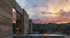 Das Tucson Mountain Retreat, Arizona, US. - Leben in und mit der Wüste. Architekten Jesus Robles und Cade Hayes von DUST.