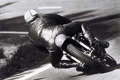 Mike Hailwood & RC166 in action