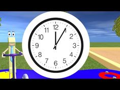 Telling Time For Children - Learning the Clock - YouTube
