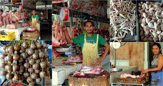 Market in Minglanilla, Cebu
