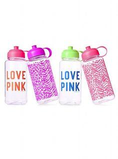 VS PINK water bottle, look cute while you break a sweat ;)