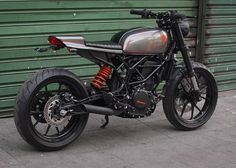 "KTM 390 Street Tracker ""Urban"" by Bendita macchina #motorcycles #streettracker #motos   caferacerpasion.com"