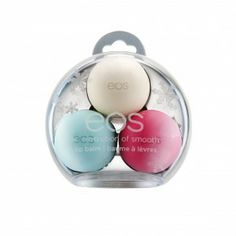eos - All Natural Limited Edition Lip Balm 3 Pack | EOS Evolution of Smooth
